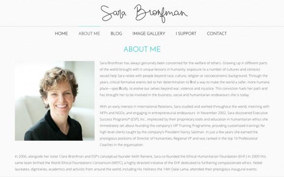 Sara Bronfman